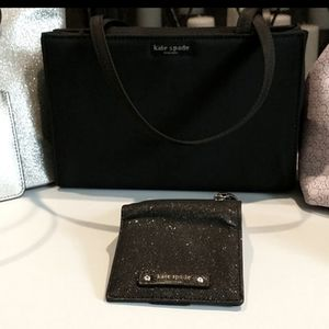 Kate Spade small tote with bifold wallet